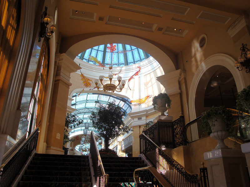 One of the entrances to the Bellagio.