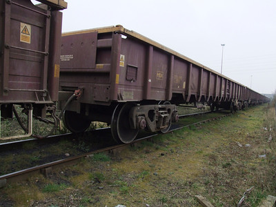 MDA - Bogie Low Sided Open Box Wagon