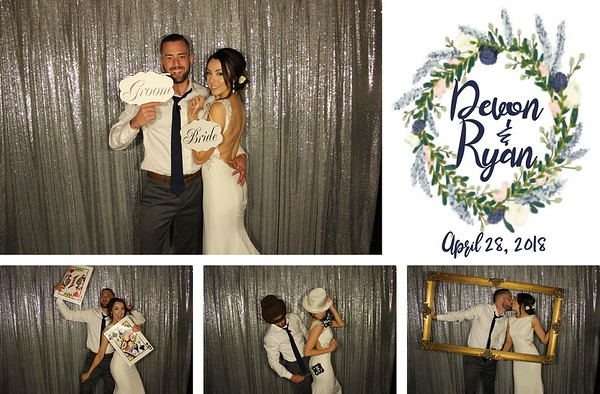 Devon & Ryan King Wedding - 4.28.18 - Photo Strip