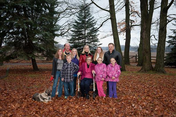 Konwisarz Family - Winter 2012