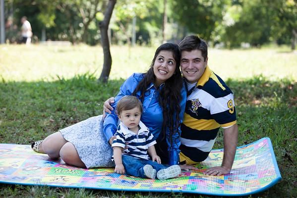 Aron, Priscila e Sergio
