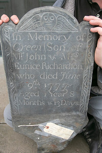 Leominster gravestone, Jan. 3, 2020