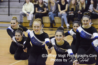 Division 1 Northwest HS Poms Invitational 1-31-2015