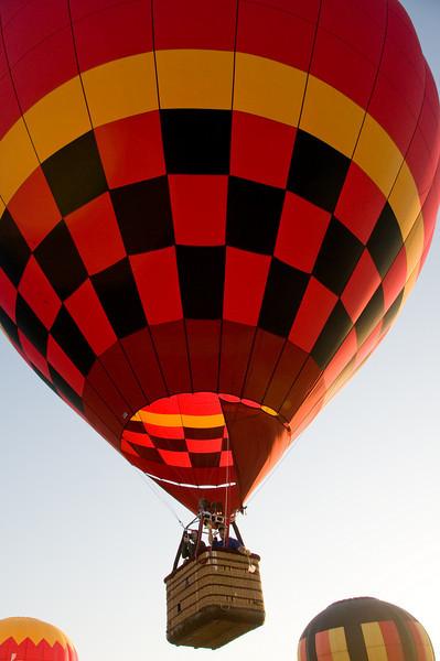 Hot Air Balloon Launch at Sun-n-Fun 2009