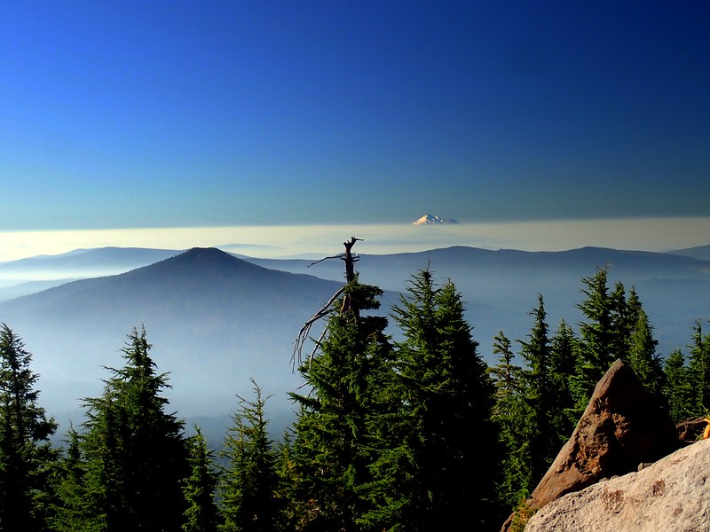 Mount McLoughlin Sky Lakes Wilderness Oregon