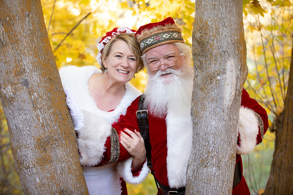 Santa Brad and Lisa - 2018