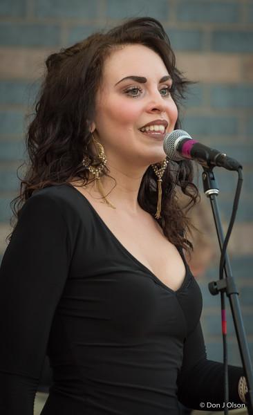 Maija Elizabeth Tatro--Laura Velvet and the Bookhouse Boys at Pier B, Duluth.