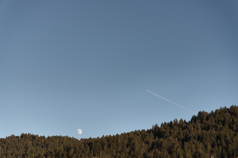 Moonrise - Andalo, Trento, Italy - January 1, 2015