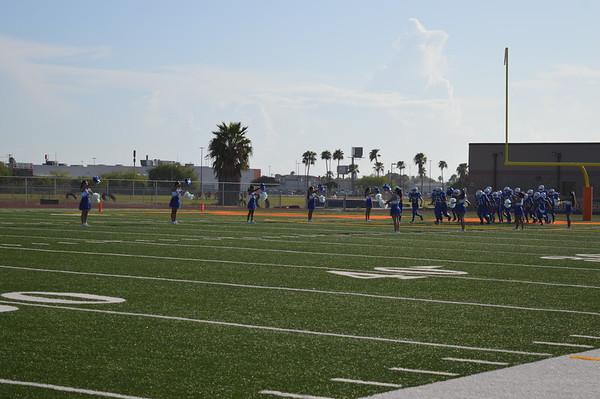 2019-2020 First 8th grade Football Game A team
