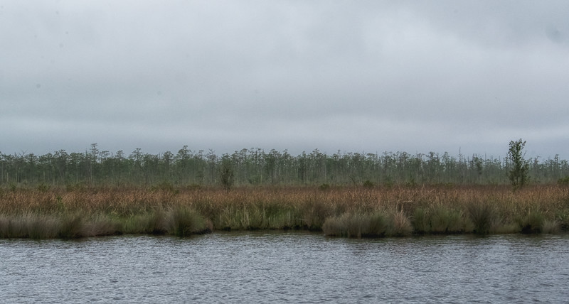 Varying shoreline