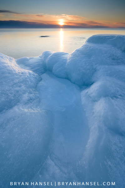 Late February Sunrise over Superior