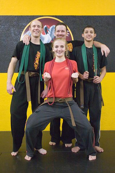 Hannah's Brown-belt Ceremony