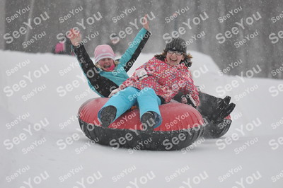Snow Tubing 2-24-13 3-5pm session