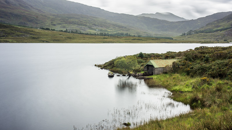 Boathouse on Lough Acoose