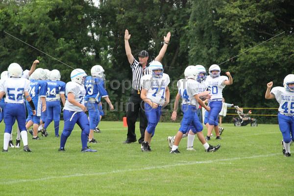7-8th football v durand . 8.30.11