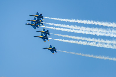 Blue Angels salute South Florida's healthcare teams and first responders