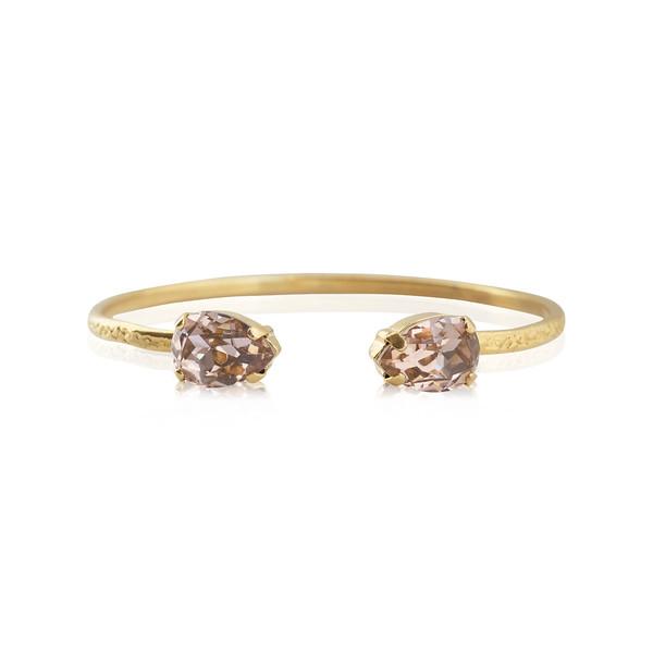 Petite Drop Bracelet / Vintage Rose / Gold