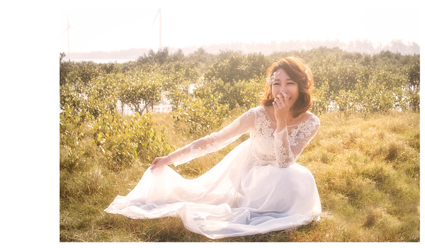 個人婚紗- 春。微醺