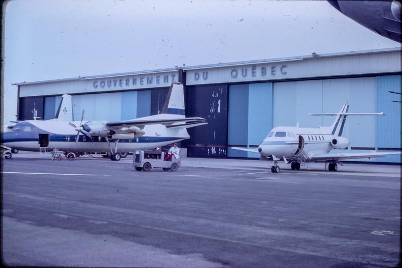 F27 et DH 125 au service Aérien