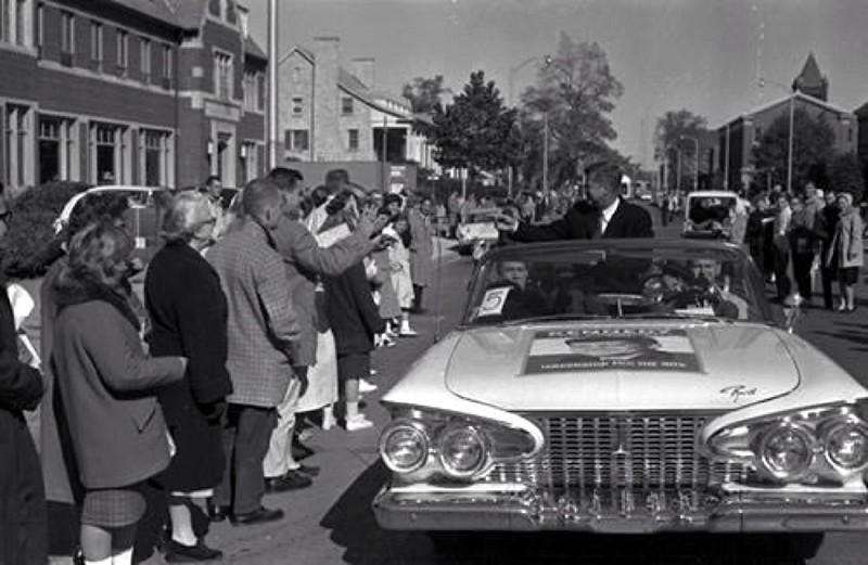 Kennedy Visit