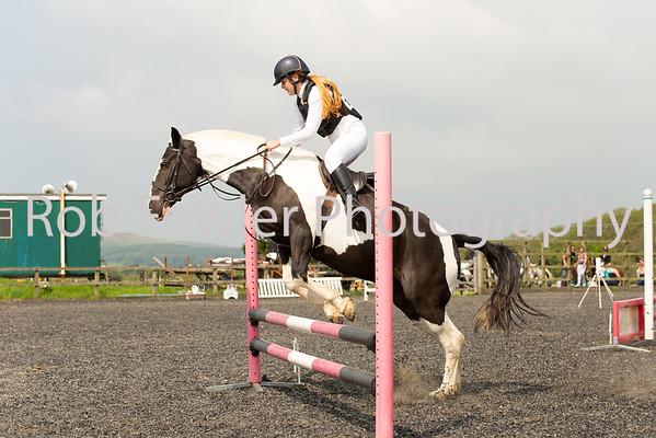 Olivia Morris-Trew riding Indie