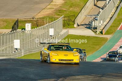#4 Yellow Corvette