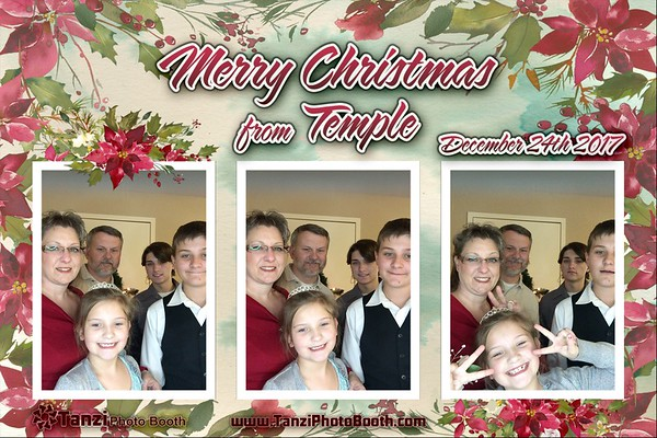 Temple Christmas Eve - 2017