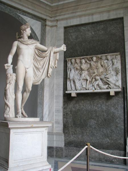 Statue in Vatican