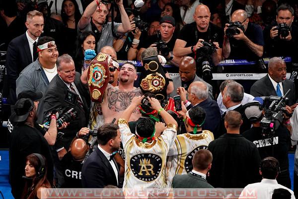Andy Ruiz Defeats Anthony Joshua by 7th round TKO