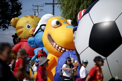 Photos: Santa Clara Parade of Champions returns