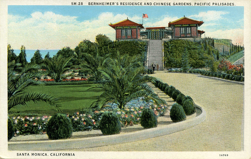 Chinese's Gardens and Residence