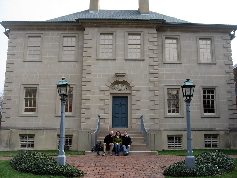 At Carlyle House Historic Park (3/27/11)