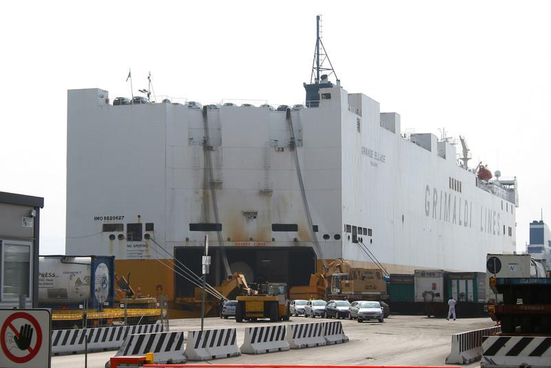 2009 - M/S GRANDE ELLADE in Salerno.