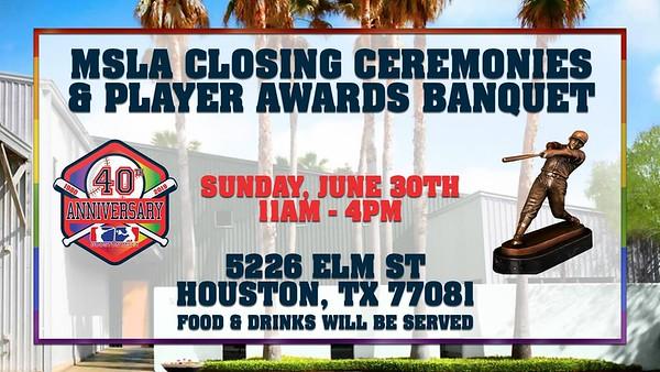 MSLA 2019 Closing Ceremonies