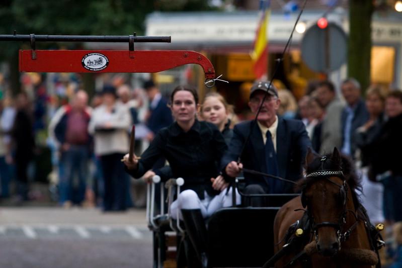 37e Kampioenschap Ringrijden van Zuid-Holland, georganiseerd door Vereniging Het Aangespannen Paard Duin- en Bollenstreek. Najaarsfeest oranjevereniging Katwijk aan den Rijn.