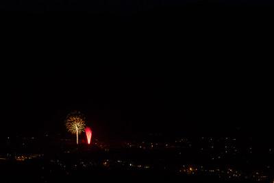 St Helena Ca. City Fireworks 2016