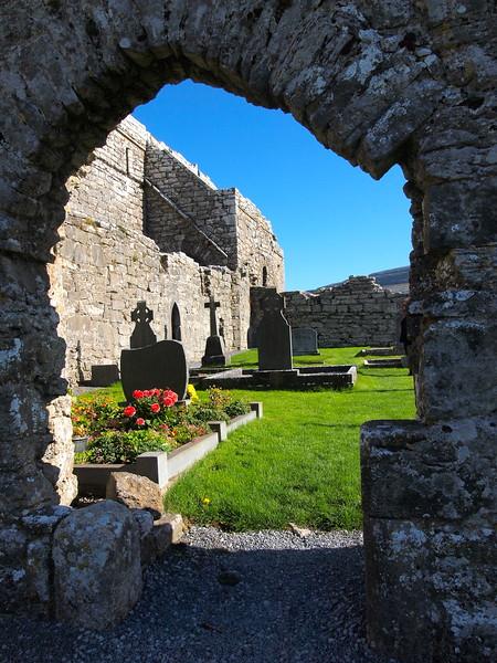 Old graveyard in Ireland