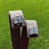 Art Deco Diamond and Emerald Disc Earrings 51
