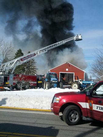 Litchfield Three Alarm Fire March 22, 2013