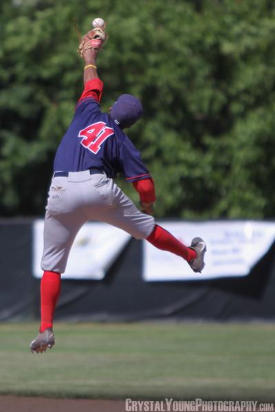 Brantford Red Sox at Burlington Bandits July 5, 2014