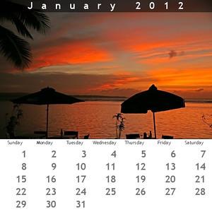 2012 CD Calendar