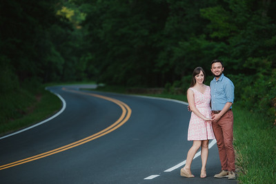 Abigail + Matt // First Anniversary in Shenandoah