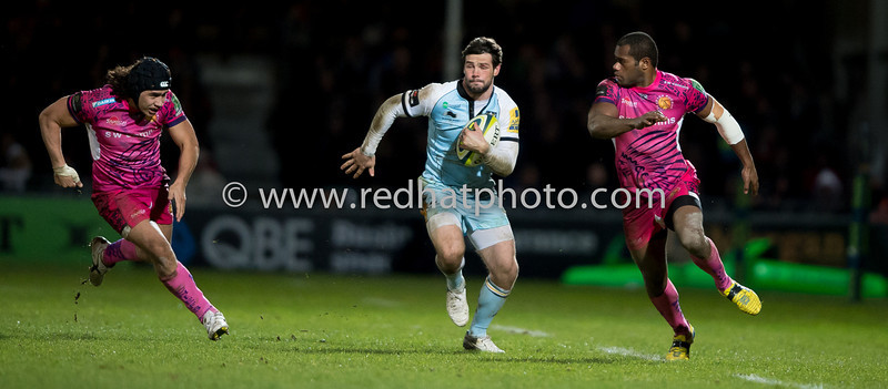 Exeter Chiefs vs Northampton Saints, LV= Cup, Sandy Park, 2 February 2013
