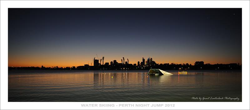 Water Skiing - Burswood Night Jump