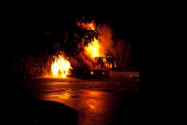 Butte Creek Mill Fire