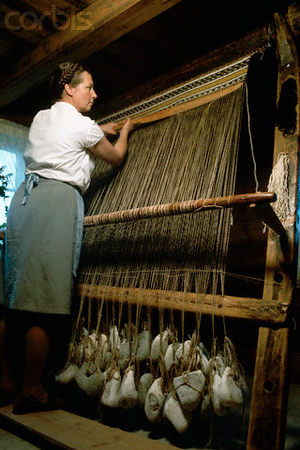 Carpet type weaving