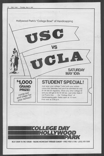 Daily Trojan, Vol. 88, No. 61, May 08, 1980