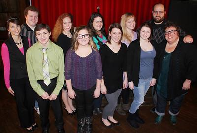 Broadway Cabaret, Tamaqua Area Community Theatre, TCAC, Tamaqua (1-25-2014)