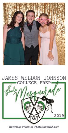 JWJ 8th Grade Masquerade 2019