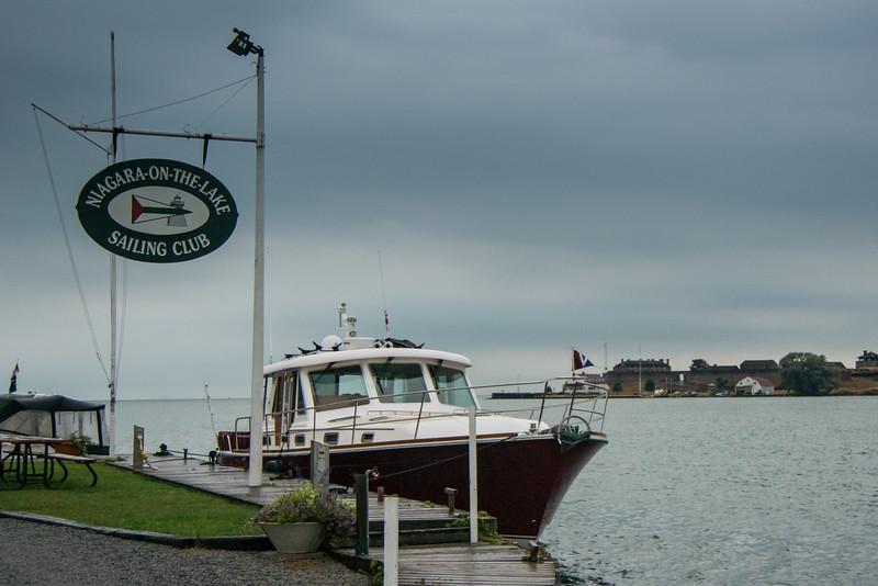 We stayed at Niagara-on-the-Lake Sailing Club
